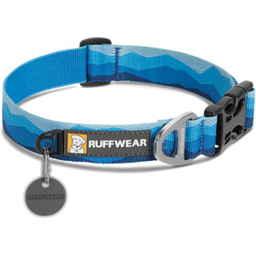 Ruffwear Hoopie Collare per animali, blue mountains